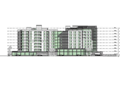 Kingsford Smith Drive Elevation